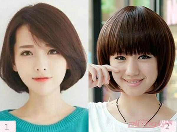 学生头发型短发 清新可爱的学生头短发发型图片图片