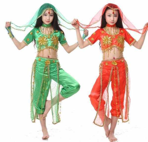 印度化妆图片 儿童印度舞化妆图片