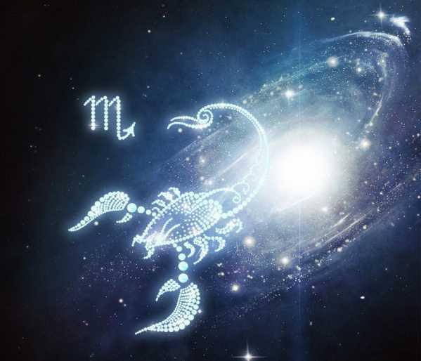 天蝎座星星图案 天蝎座图片星空图 - 星座 - 中天女性