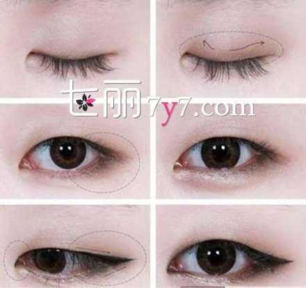 单眼皮如何画好眼妆 小眼睛单眼皮怎么化眼妆