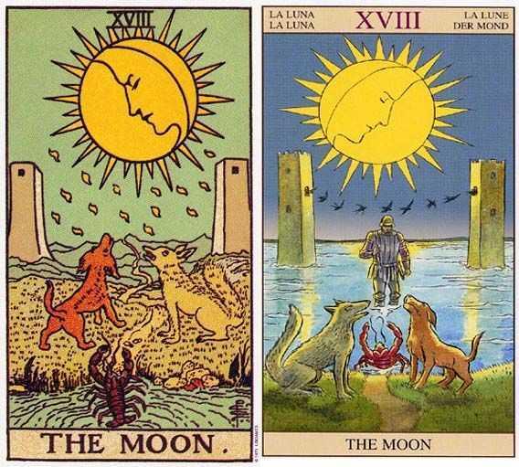 塔罗牌月亮多的代表 塔罗牌的月亮牌有什么意义
