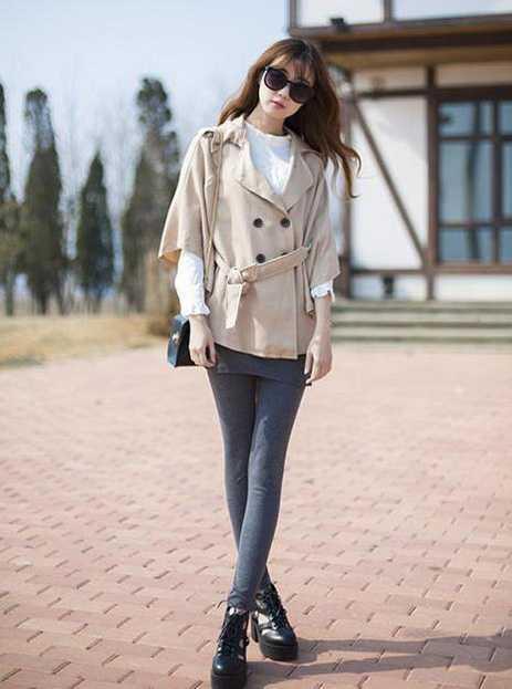 打底裤裙搭配 冬季打底裤裙怎么搭配既时尚又保暖