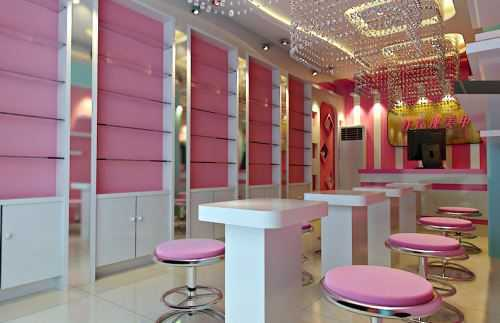 美甲店的装修风格 精致女性们都非常喜爱的美甲店装修