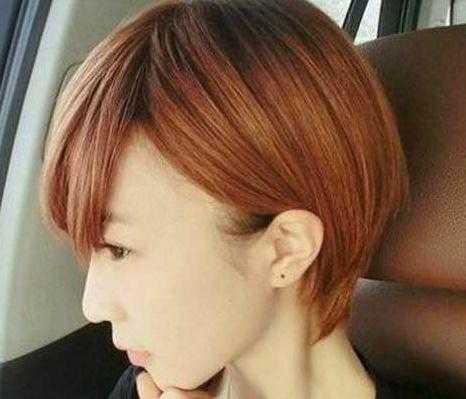2017中短发最新发型女 2017女生短发发型图片图片
