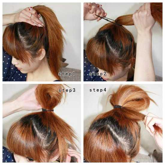 绑头发的方法100种 女性的100种扎头发方法