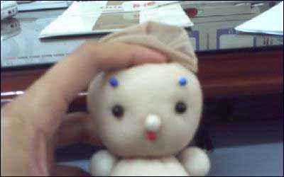 废旧袜子手工制作 用旧丝袜手工制作可爱袜子娃娃