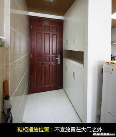 放在哪里合适 进门左边是客厅,右边是餐厅图片