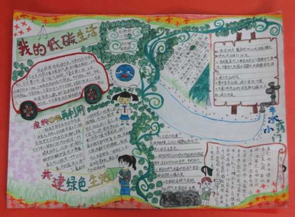 幼儿园育儿知识手抄报 幼儿园的环保手抄报简单又漂亮