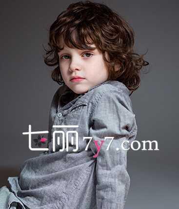 小男孩烫发发型图片萌 欧美小男孩短发发型设计图片