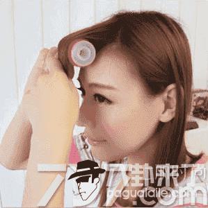 刘海卷发筒怎么用 圆筒塑料卷发器怎么用来卷刘海