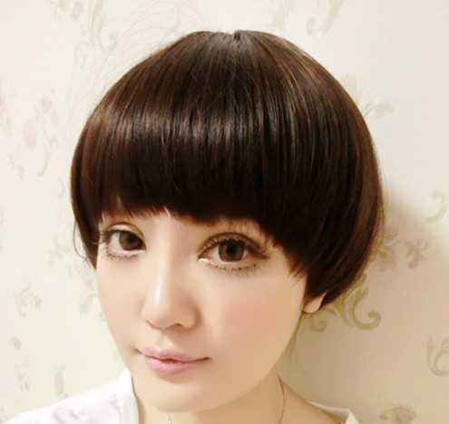小女学生头短发型 学生头短发发型图片图片