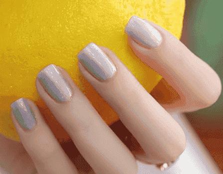 粘钻美甲2017新款 夏季美甲简单大方新款图片2017亮晶晶的钻石美甲图