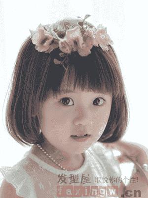 小编今天分享了几款宝宝的发型女孩短发,打造可爱小萌宝.