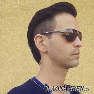 鬓角剃掉的男生发型 两边鬓角剃掉的发型图片