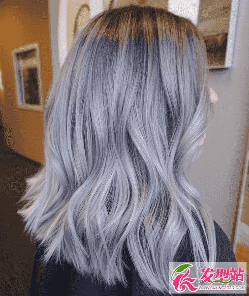 谁能给我找一个染头发各种颜色的样板图`越全越好图片