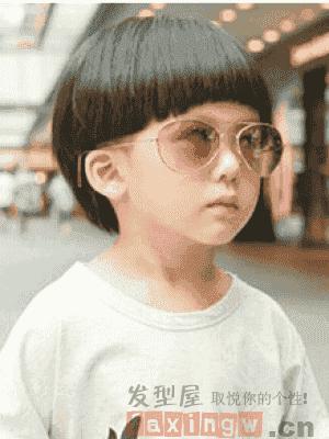 宝宝西瓜头剪发步骤 男宝宝西瓜头发型