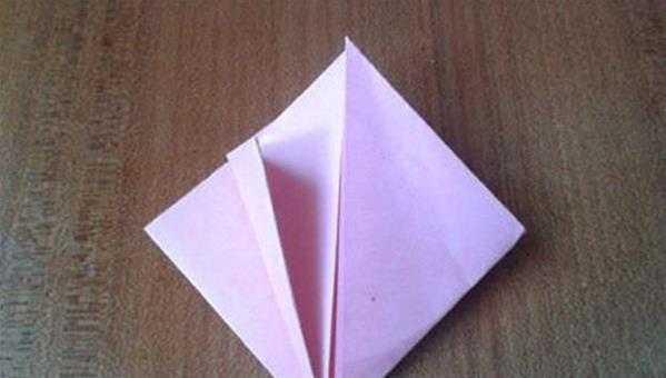 蝴蝶结钻戒折法 精美的钻石折纸diy图解