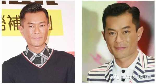 m型发际线的男生发型 脸型决定发型图片